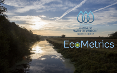 The Alliance for Water Stewardship and EcoMetrics partner to align a robust standard with relevant metrics to track progress towards sustainability goals